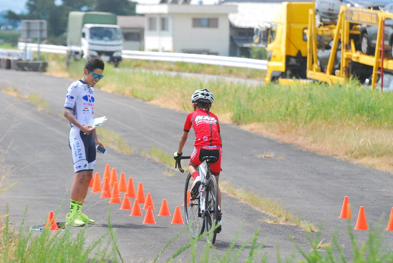 将醐局員の広報日誌 ~シマノ鈴鹿前の実走練習~